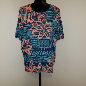 LulaRoe Floral Print Tunic Sz XS NWOT!!